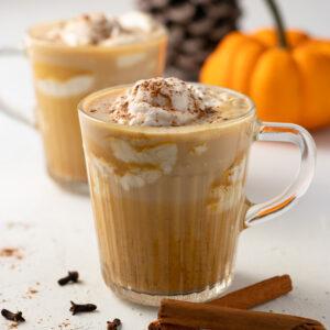 Low FODMAP Pumpkin Spice Latte